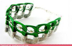 Tin can top jewellery