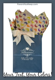Welcome Guest Gift Bag Personalized Wedding by ShopFavorsYouKeep