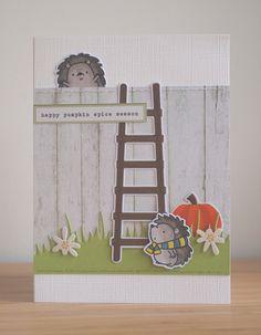 Superleuk zijn de egeltjes van MFT, je kunt ze van alles laten doen, ze klimmen zelfs over een schutting ;)     Vandaag een feestje op ...