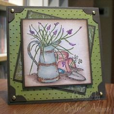 B-day, Aunt MaryAnne by darleenstamps - Cards and Paper Crafts at Splitcoaststampers Cards For Friends, Friend Cards, Long Time Friends, Farm Theme, Friendship Cards, Happy B Day, Unique Cards, Watercolor Cards, Flower Cards