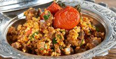 Ricotta, Iftar, Fried Rice, Carne, Protein, Yummy Food, Beef, Ethnic Recipes, Bulgur