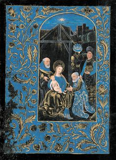 Adoration of the Magi | Penitential Psalms and Litany | Book of Hours (The Black Hours) | ca. 1480 | The Morgan Library & Museum