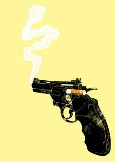septagonstudios:  Victor Calahan SMOKING GUN