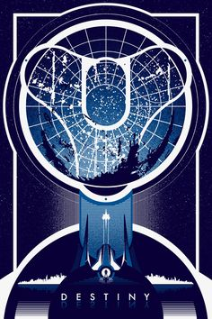 Destiny- Created by Ron Guyatt Available for sale on Etsy. Also, check out the multitude of places you can find more of Ron's work… Website | Society6 | Nuvango Facebook | Twitter | Instagram | Deviant Art