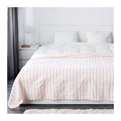 IKEA - SOMMAR 2016, Sprei, 250x250 cm, , De dikke, kleurrijke draden die in de katoenen stof zijn meegeweven geven de sprei een levendige structuur.