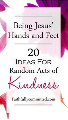 If you're feeling like you don't know how to make a difference in this world, start with these 20 small, simple random acts of kindness!