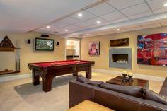 Town & Country Real Estate - East Hampton #TownandCountry #GameRoom #Hamptons #HomeDecor