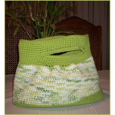 spring bag #knitted