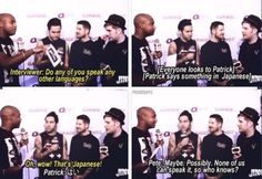 Fall Out Boy   funny moments