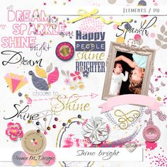 Shine Bright - Elements :: France M. Designs :: Shop by Designer :: Memory Scraps