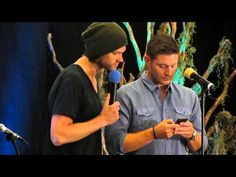 Jensen Joins Twitter - Watch the whole Gold Breakfast panel from #VanCon2014 to see more of him trying to figure out Twitter.