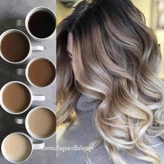 Hair, Fall hair trends, Hair trends Fall hair, Hair trends, Hair styles - 2018 Fall Hair Trends Get Your Pretty On - Ombre Hair Color, Hair Color Balayage, Haircolor, Blonde Fall Hair Color, Brown To Blonde Ombre Hair, Fall Hair Highlights, Brown Hair, Balayage Hair Brunette With Blonde, Going Blonde From Brunette