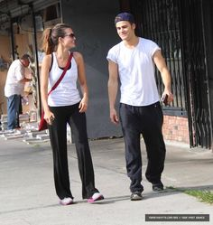 Torrey Devitto & Paul Wesley. How did I not know they were married for a few yrs?!?!