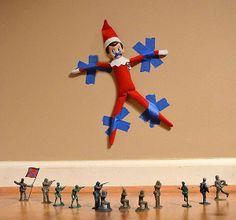 10 idées de tours pour votre lutin de Noël