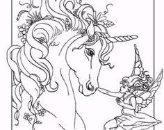 Unicorn Coloring Pages for Adults - Bestofcoloring.com