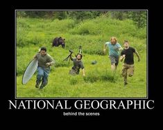National Geographic behind the scene : Funny Memes | Fun Things To Do When Bored