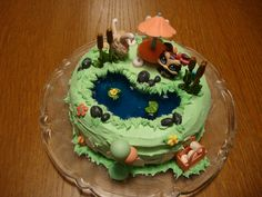 Little Pet Shop cake I made for my niece