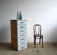 Blue nest of drawers Filing Cabinet, Nest, Cabinets, Drawers, Furniture Design, Storage, Blue, Home Decor, Nest Box