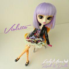 My lovely Violetta ♥ - Pullip Tokidoki x Hello Kitty Violetta        #doll #pullip #violetta #tokidoki