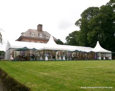 Marquee Hire External shot of one of our Marquees