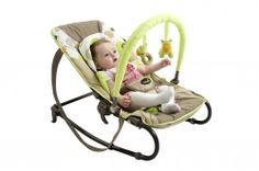 Babymoov Bubble Bouncer - Comfortable and Trendy A well priced bouncer with all these wonderful features: - 5 position reclining seat - rocking or fixed position - adjustable, detachable quilter liner cushion - compact folding and carrying handles making it easily transportable - removable and adjustable playing arch with two toys - newborn seat cushion which can be removed.