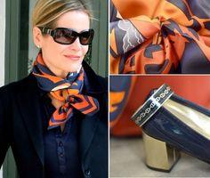 印象がガラリと変わる!? お洒落なスカーフアレンジを取り入れて いつもと違う魅力的な私を表現してみよう! | by.S