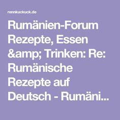 Rumänisches Forum Rezepte, Essen & Trinken: Re: Rumänische Rezepte in Deutsch - . Food And Drink, Reading, Romania, Kitchen Island, Amp, Romanian Food, Food And Drinks, Salads, Party Food Sides