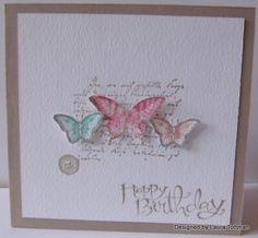 .Butterflies, Notable Notions, Papillon Potpourri, Sassy Salutations - SU cute!