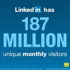 Are you on LinkedIn yet? Find out how many people are on LinkedIn, and why you should be there too! | Evolve FactGraphx