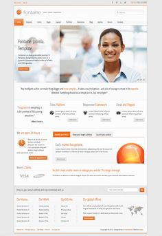 Fontaine Responsive Joomla Business Template