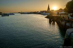 Coucher de soleil sur les Francofolies by Fabrice DENIS on 500px A La Rochelle