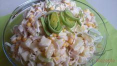 Sellerie-Ananas-Porree-Salat