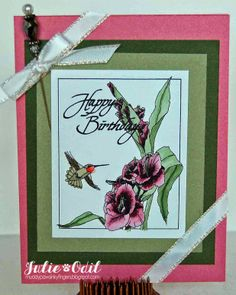 Birthday Wishes for Eureka Stamps and Pinque Peacock