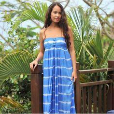 Hot Lava - Stripe Dress - blue - soon online #fashionchick #fashionmilk