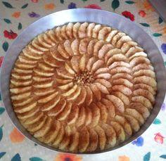 Elmalı Pasta Tarifi (Sadece zeytinyağı ile)