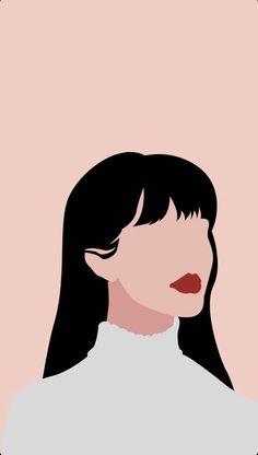 Illustration Art Drawing, Graphic Illustration, Art Drawings, Illustrations, Woman Illustration, Portrait Illustration, Abstract Face Art, Arte Sketchbook, Arte Pop