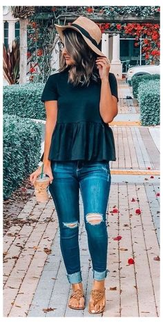 Spring Outfit Women, Summer Outfits For Moms, Casual Summer Outfits, Trendy Outfits, Fall Outfits, Casual Winter, Spring Outfits Women Over 30, Outfit Summer, Summer Dresses