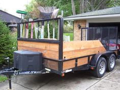 building wooden sides utility