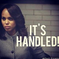 SCANDAL is back this week. I can't wait.
