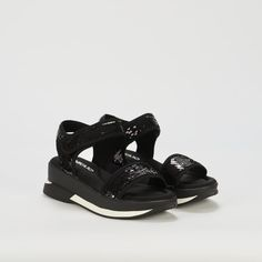 Ref: Agora 04 - Negro Flatform, Sporty Chic, Sandals, Shoes, Fashion, Latest Trends, Slippers, Totes, Women