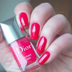 swatch Dior PIVOINE 650 Glowing Gardens Collection Spring 2016