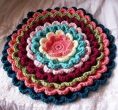 Pretty Petals Potholder - Free Pattern