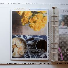 Week In The Life 2015 (Azzari Jarrett Photography & Design) Project Life 6x8, Project Life Scrapbook, Project Life Layouts, Ali Edwards, Life Journal, Journal Cards, Pocket Scrapbooking, Scrapbooking Ideas, Simply Stamps