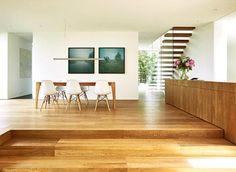 architektenh user umgebauter bungalow in hanglage sch ner wohnen l bungalow pinterest. Black Bedroom Furniture Sets. Home Design Ideas