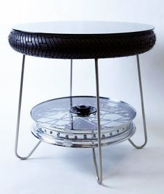 motorcycle parts table