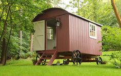 A sample of our work 'We love the shepherd's hut Roundhill has built for us.''When both our families made plans to stay this summer we used it as a great excuse to fulfill a dream of having a sheph…