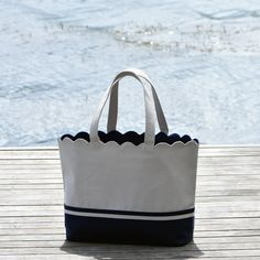 Alexandra Windsor Classic Tote - Beach Bag, Boat Tote, Work Bag