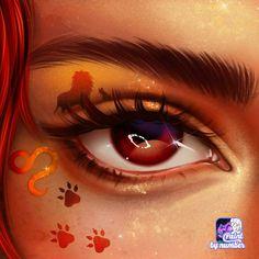 Zodiac Art, Leo Zodiac, Zodiac Signs, Leo Horoscope, Sky Anime, Eye Makeup Designs, Sky Art, Coloring Book Pages, Princesas Disney