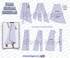 Clothing Patterns, Sewing Patterns, Crochet Patterns, Formal Dress Patterns, Fashion Sewing, Pattern Making, Cosplay, Free Crochet, Free Pattern