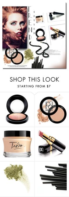 """""""Trend Setter"""" by mslewis6 ❤ liked on Polyvore featuring beauty, MAC Cosmetics, Paula Dorf, Lancôme, Chanel and Bare Escentuals"""